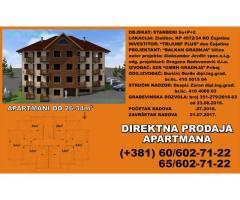 Apartmani 26m2, 34m2 - prodaja